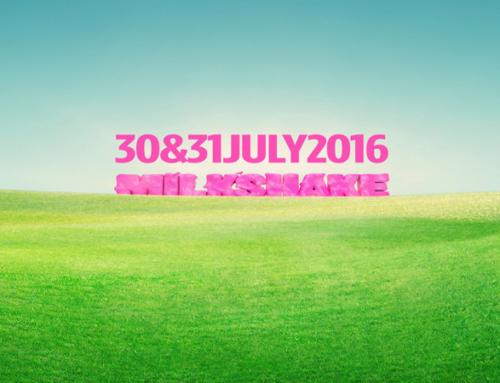 MILKSHAKE FESTIVAL 2016 AMSTERDAM: 30 & 31 JULI