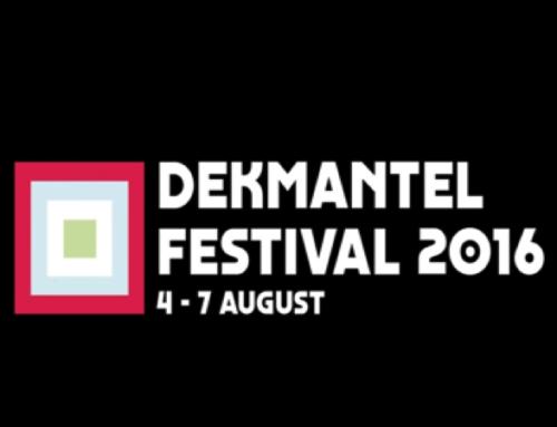 DEKMANTEL FESTIVAL 2016 AMSTERDAM: 4, 5, 6 & 7 AUGUSTUS