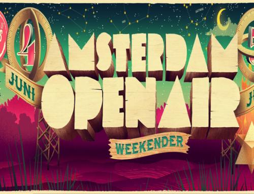 AMSTERDAM OPEN AIR 2016: 4 & 5 JUNI