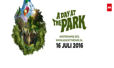 A DAY AT THE PARK AMSTERDAM 2016: 16 JULI