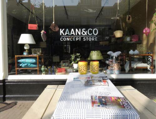 KAAN & CO AMSTERDAM: CONCEPT STORE MET HEBBEDINGEN