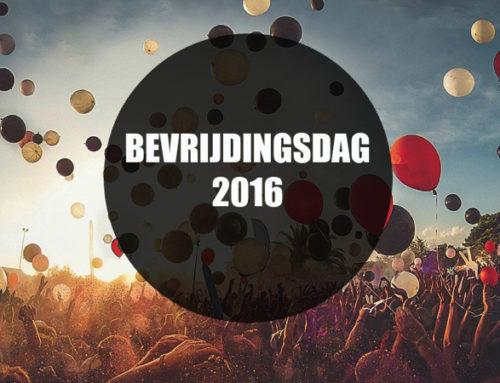 8 X FEEST MET BEVRIJDINGSDAG 2016: HIER MOET JE ZIJN!
