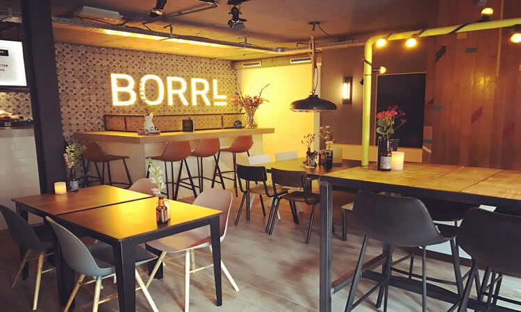 Borrl Kitchen Amsterdam