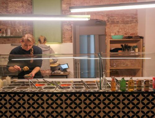 SALAD AND THE CITY AMSTERDAM: SUPER TOFFE SALADEBAR OP DE BILDERDIJKSTRAAT