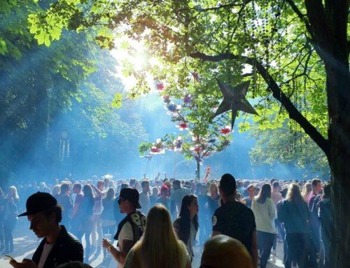 MYSTIC GARDEN FESTIVAL 2017 AMSTERDAM: SLOTERPARK OMGETOVERD TOT SPROOKJESBOS