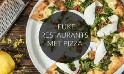 8 X LEUKE RESTAURANTS OM EEN PIZZA TE ETEN OF TE BESTELLEN