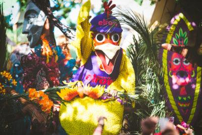ELROW FESTIVAL AMSTERDAM 2018: KLEUR EN GEKKIGHEID OP DE NDSM-WERF