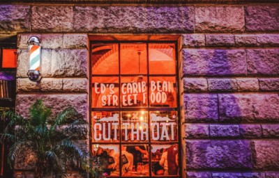 CUT THROAT AMSTERDAM: FANCY KAPSELS, STREETFOOD EN KLEURRIJKE COCKTAILS