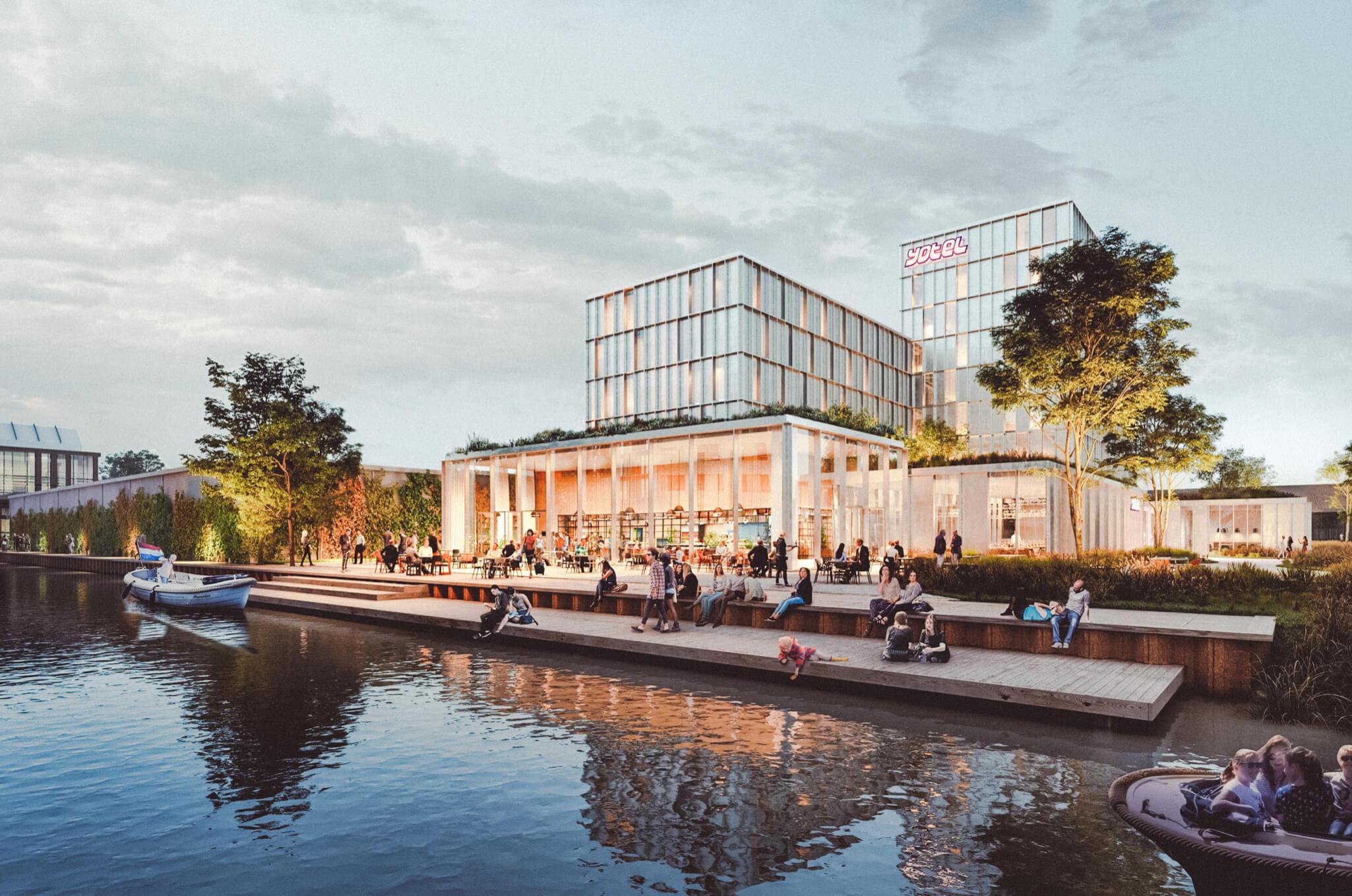 YOTEL AMSTERDAM: REVOLUTIONAIR, INNOVATIEF EN DUURZAAM HOTEL GEOPENDIN NOORD