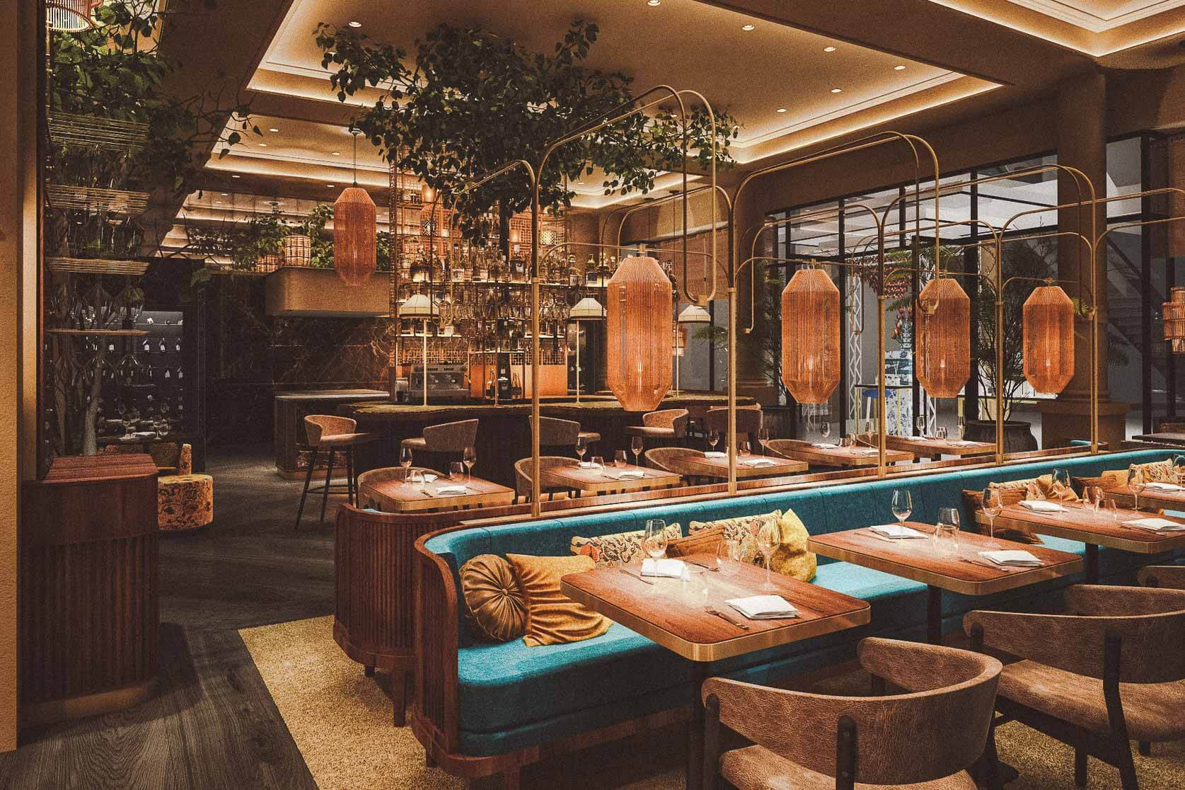 RESTAURANT ROUHI AMSTERDAM: ALL-DAY FOOD FOR THE SOUL AAN HET SPUI
